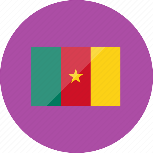 cameroon, country, flag, flags, location, national, world icon