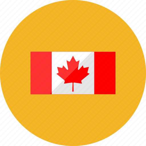 canada, country, flag, flags, location, national, world icon