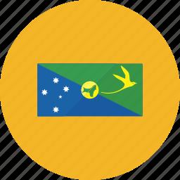 christmas, country, flag, flags, island, national, world icon