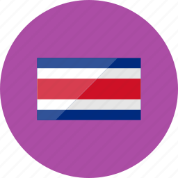 costarica, country, flag, flags, location, national, world icon