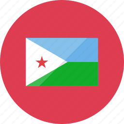 country, djibouti, flag, flags, location, national, world icon