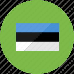 country, estonia, flag, flags, location, national, symbols icon