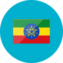 country, ethiopia, flag, flags, location, national, world icon