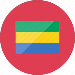 country, flag, flags, gabon, location, national, world icon