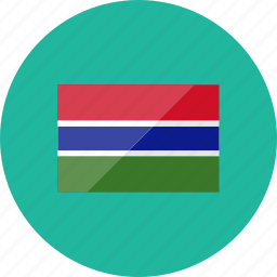 country, flag, flags, gambia, location, national, world icon