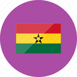 country, flag, flags, ghana, location, national, world icon