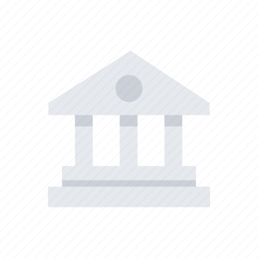 bank, building, business, estate, finance, money, office icon