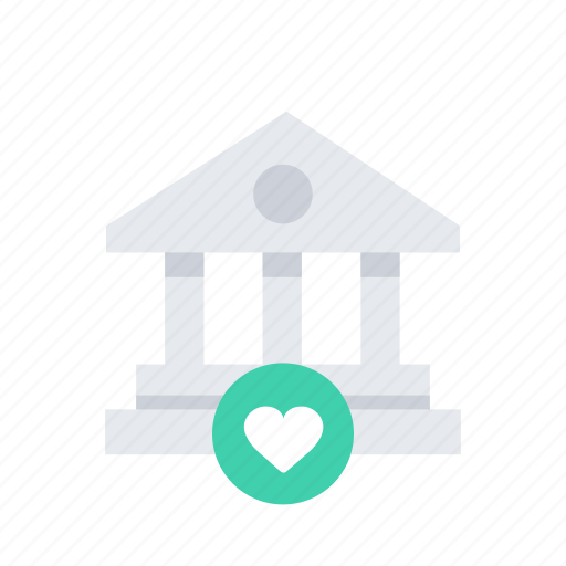 bank, building, business, estate, finance, like, money icon