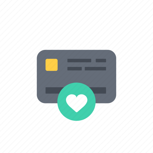 card, like, payment icon