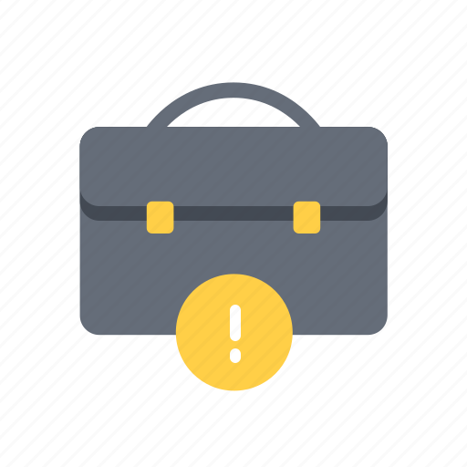 alert, business, case, finance, money icon
