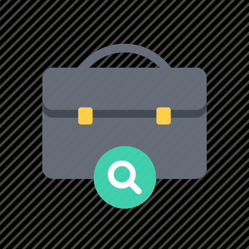 business, case, finance, find, marketing, money, search icon