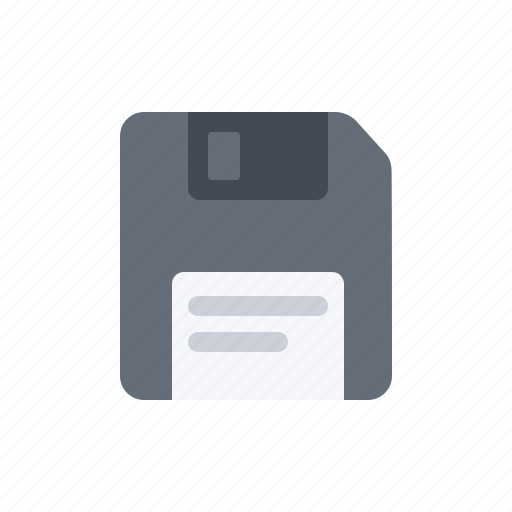 data, diskette, document, file, floppy disk, format, grey icon
