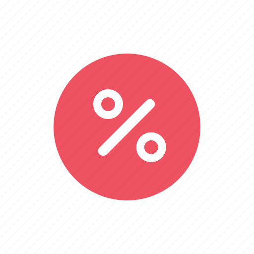 badge, business, buy, discount, ecommerce, red, shopping icon