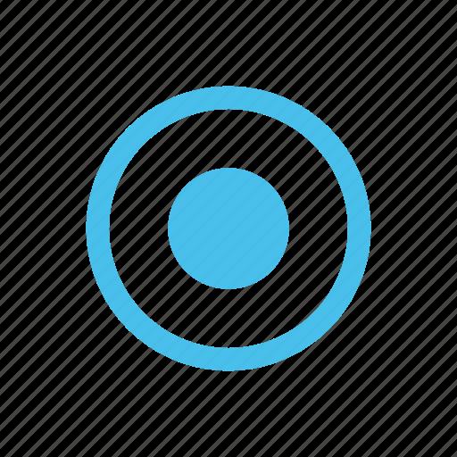 achievement, aim, bullseye, dot, goal, marketing, target icon