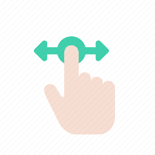 gesture, hand, interaction, movement, swipe, touch icon