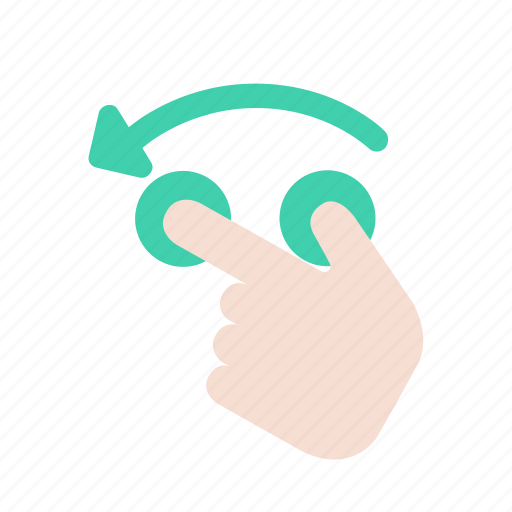 finger, gesture, hand, interaction, interface, movement, tap icon
