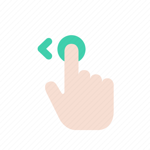 fingers, gesture, hand, interaction, movement, tap, touch icon