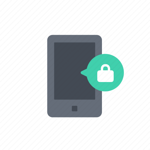 device, lock, phone, protection, secure, security, smartphone icon