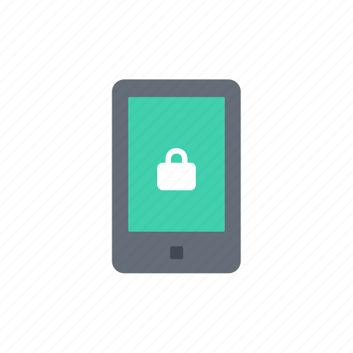 device, lock, mobile, phone, screen, smartphone, technology icon