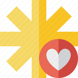asterisk, favorites, password, pharmacy, star, yellow icon