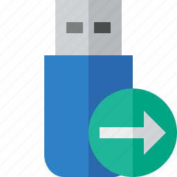 data, disk, drive, flash, next, removable, storage, usb icon