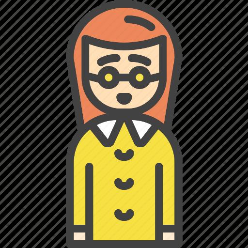 avatar, face, female, girl, social, user, women icon