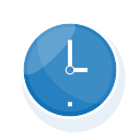 business, clock, event, office, seo, time, watch icon