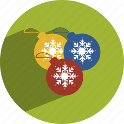 baubles, christmas icon