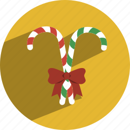 can, candy, canes, christmas icon
