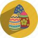 christmas, easter, egg icon