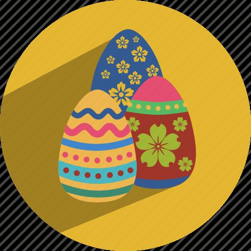 christmas, easter, egg icon