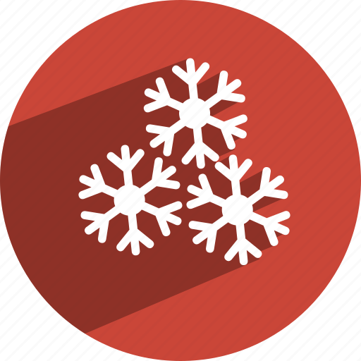 christmas, snowflake icon