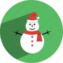 christmas, hat, snowman icon