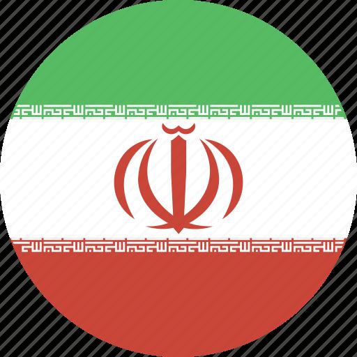 circle, iran icon
