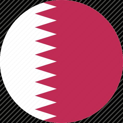 circle, qatar icon