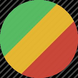 circle, congo icon