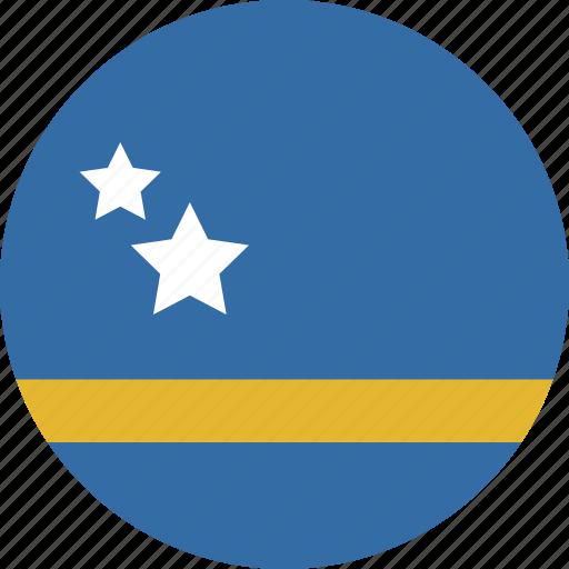 circle, curacao icon