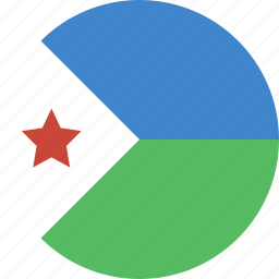 circle, djibouti icon