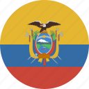 circle, ecuador icon