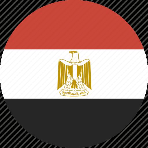 circle, egypt icon