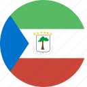 circle, equatorial, guinea icon