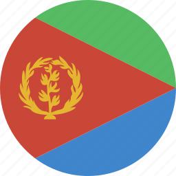 circle, eritrea icon