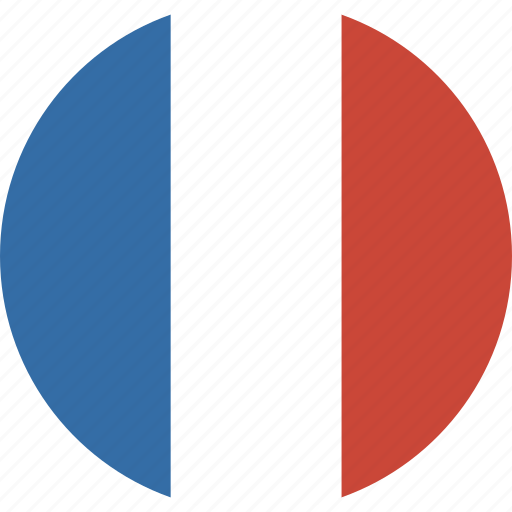 circle, flag, france icon | icon search engine