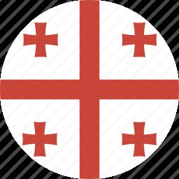 circle, georgia icon