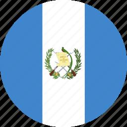 circle, guatemala icon