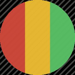 circle, guinea icon