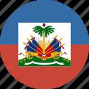 circle, haiti icon