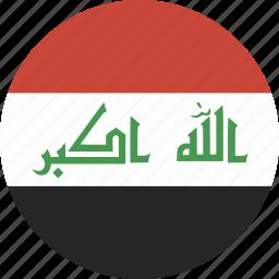 circle, iraq icon