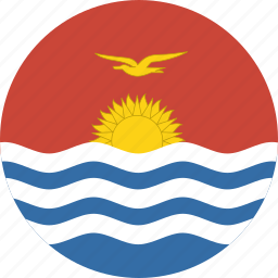 circle, kiribati icon