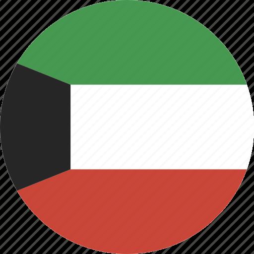 circle, kuwait icon